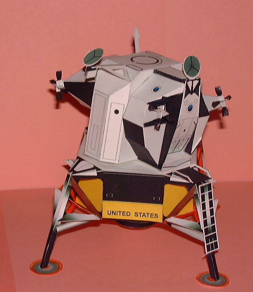 paper spacecraft models - photo #23