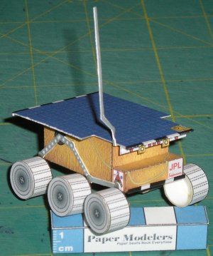 mars rover papercraft - photo #29