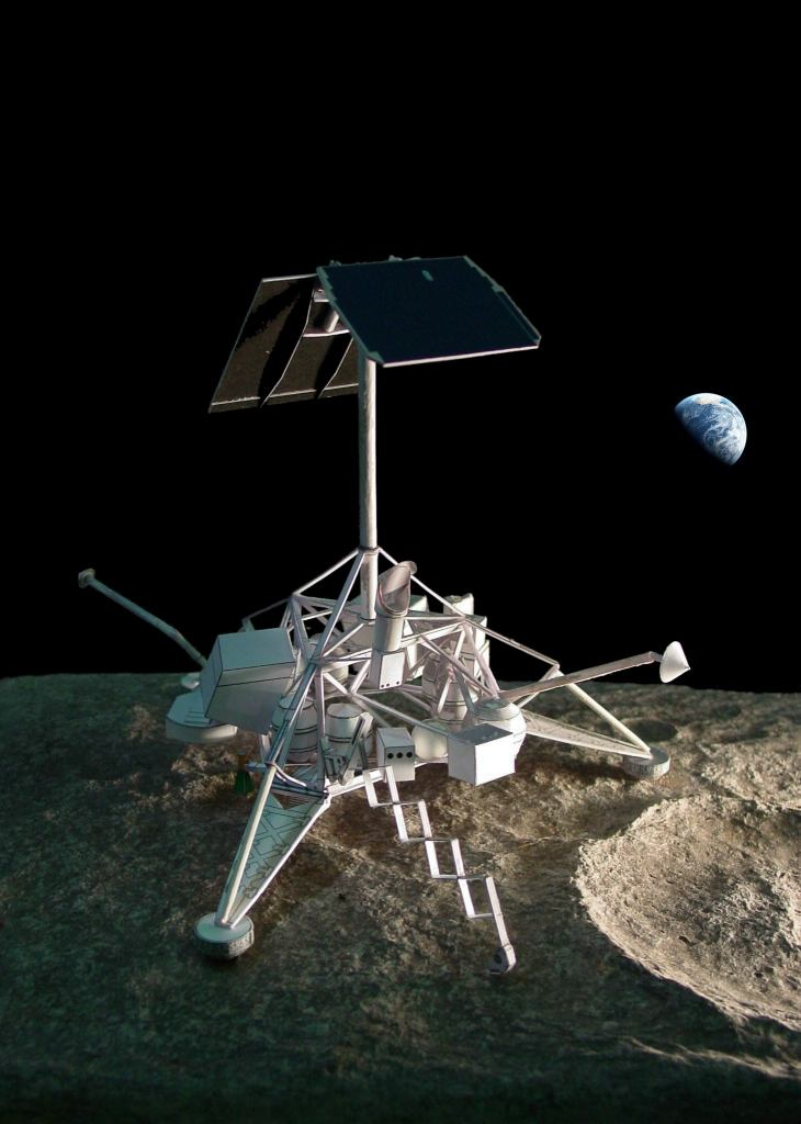 apollo spacecraft paper model - photo #28