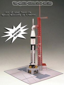 apollo spacecraft paper model - photo #17