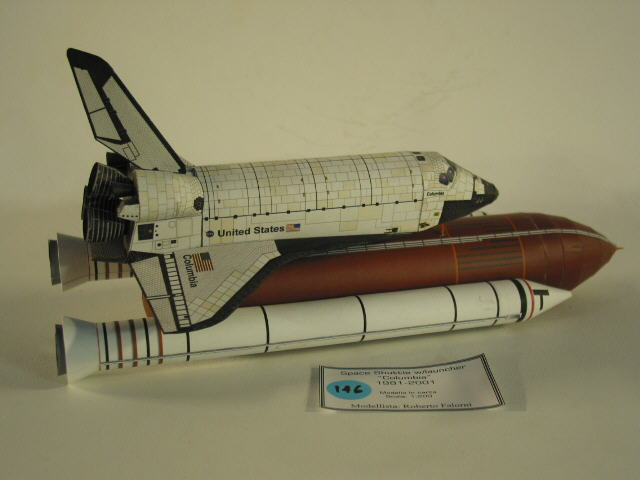 Real Spacecraft Paper Models
